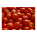 Tomater på marknadsföra posters