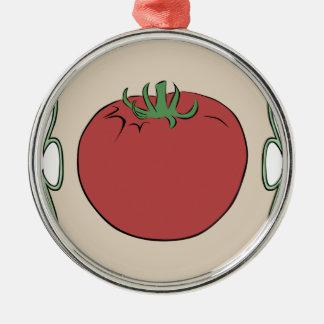 Tomatfrö Julgransprydnad Metall