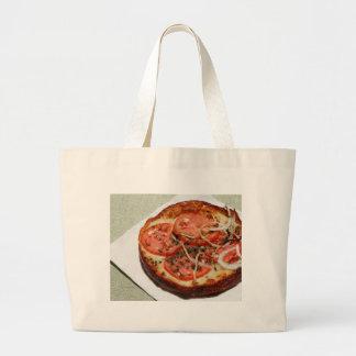 TomatlökPizza Jumbo Tygkasse