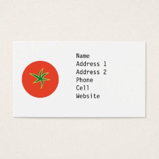 Tomatvisitkort Visitkort