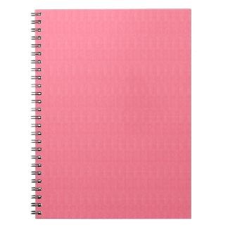Tomma den diy rosastrukturmallen TILLFOGAR text Anteckningsbok Med Spiral