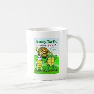 Tommy sköldpadda: Exercise är rolig! Kaffemugg