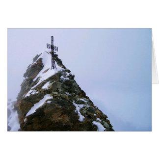 Tomt kort för Matterhorn toppmötekor