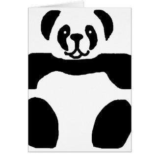 Tomt kort för Pandabjörn