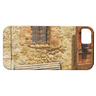Tomt ta av planet framme av en vägg, iPhone 5 Case-Mate skydd