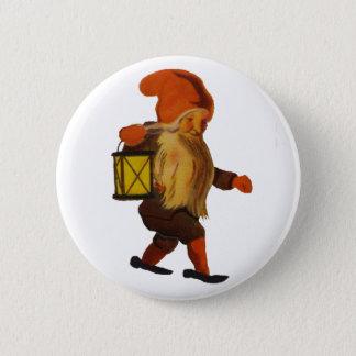 Tomten knäppas - vanligt standard knapp rund 5.7 cm
