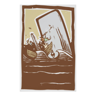 Tonad Whaling Affischer