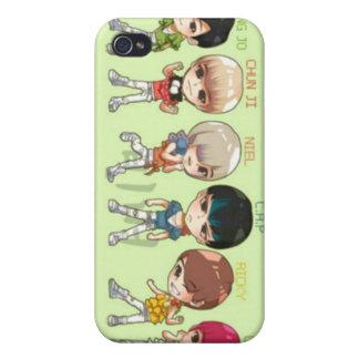 tonåring bästa, asiat, korean iPhone 4 fodraler