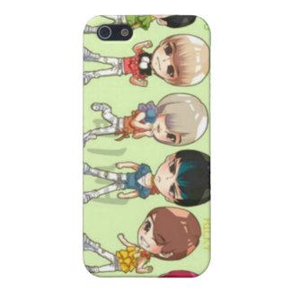 tonåring bästa, asiat, korean iPhone 5 fodral