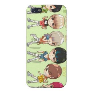 tonåring bästa, asiat, korean iPhone 5 skydd
