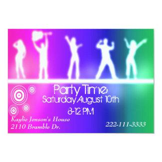 Tonåring partyinbjudan 12,7 x 17,8 cm inbjudningskort