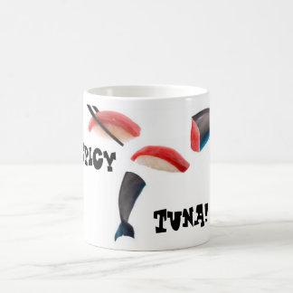 Tonfisk er delfinSushi Kaffemugg