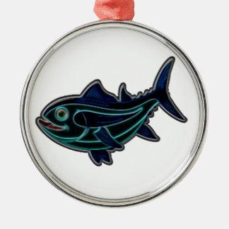 Tonfisk Julgransprydnad Metall