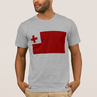 Tonga flagga t shirt