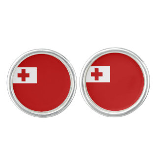 Tonganska flaggaCufflinks Cufflinks