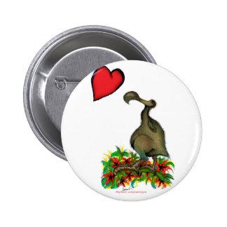 tony fernandess kärlekdodo standard knapp rund 5.7 cm