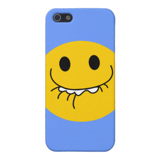 Toothy leendesmiley face iPhone 5 cover