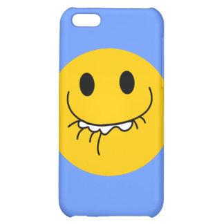 Toothy leendesmiley face iPhone 5C skal