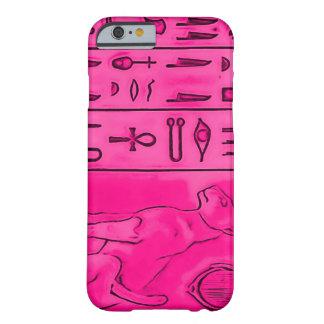TopazPharoah för iPhone 6/6S egyptisk rosa konst Barely There iPhone 6 Skal