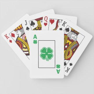 Topp- standarda leka kort för irländare casinokort