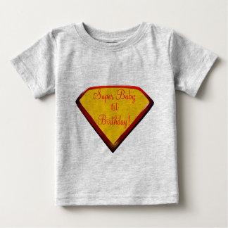 Toppen babyfödelsedag t shirt