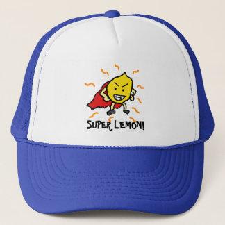Toppen citron! truckerkeps