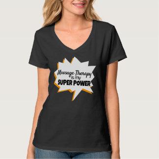 Toppen för massageterapeutT-tröja driver T Shirt