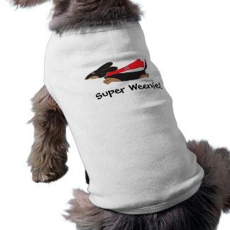 Toppen hund tröja för Weeniesvarttax vid Sudachan