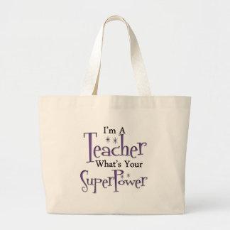 Toppen lärare jumbo tygkasse