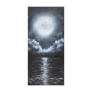 Toppen måne canvastryck