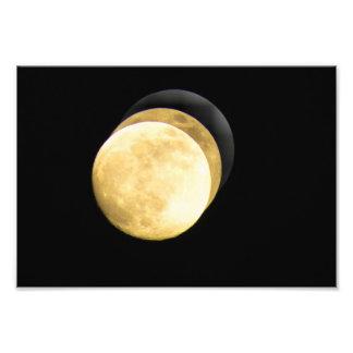 Toppen måne HD Fotografiskt Tryck