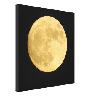 Toppen måne - kanfaskonst canvastryck