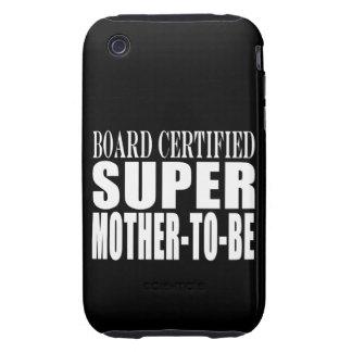 Toppen mor för framtida baby shower för mammor iPhone 3 tough cover