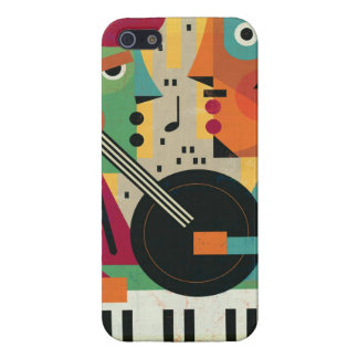 Toppen Retro Constructivistdesign iPhone 5 Fodraler