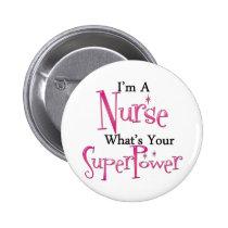 Toppen sjuksköterska knappar med nål