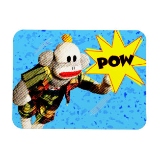 Toppen SockMonkey hjälte Magnet