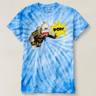 Toppen SockMonkey hjälte Tee Shirt