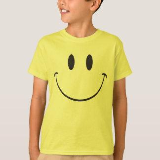 Toppen stor leendeemoji tee shirt