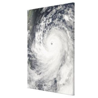 Toppen Typhoon Man-Yi Canvastryck