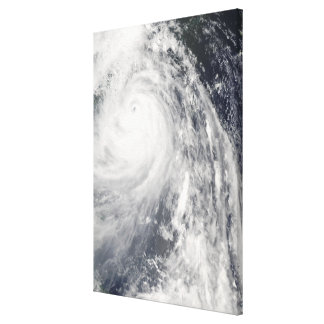 Toppen Typhoon Wipha Canvastryck