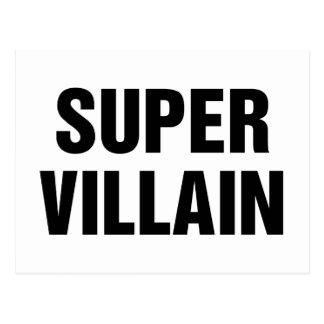 Toppen Villain Vykort