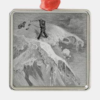 Toppmötet av Momingen passerar i 1864, från 'aet Julgransprydnad Metall