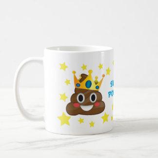Toppna Pooper, kungbajsmugg Kaffemugg