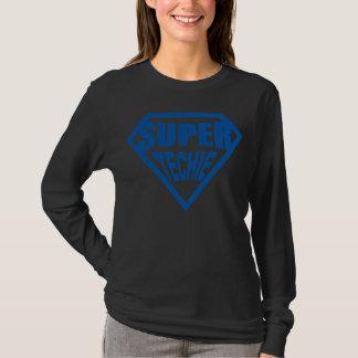 Toppna Techie - blått Tee Shirt