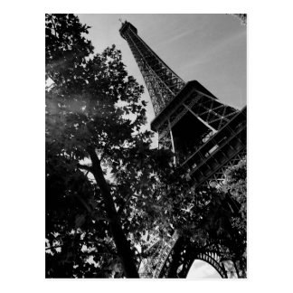 Torn 2 för B&W Eiffel Vykort