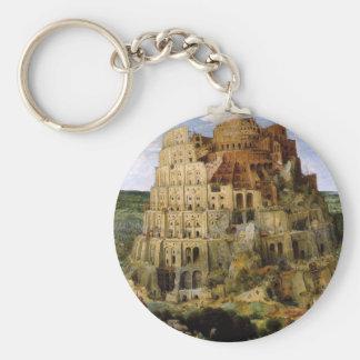 Torn av Babel - 1563 Rund Nyckelring