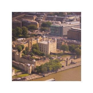Torn av London från över Canvastryck