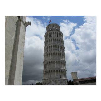 Torn av Pisa, italien Vykort