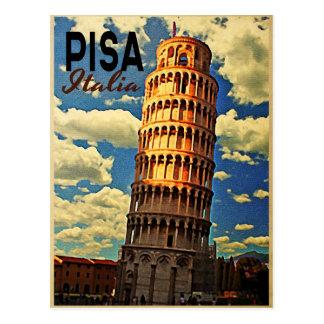 Torn av Pisa ltaly Vykort