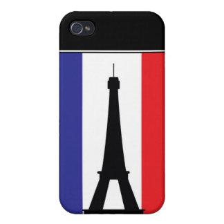 Torn för 4 Eifel iPhone 4 Cover